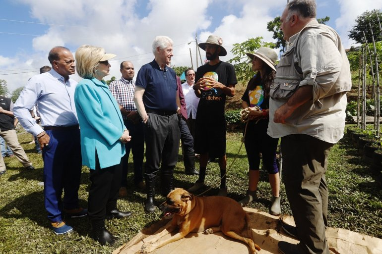Bill Clinton en Puerto RIco