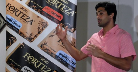 Eduardo Cortes vice president and founder of the Forteza Caribbean Chocolate