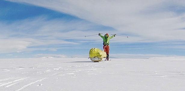 Mujeres en la Antartida