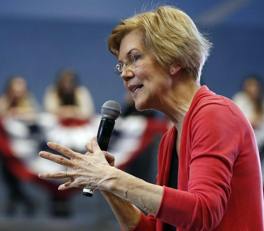 senadora estadounidense Elizabeth Warren