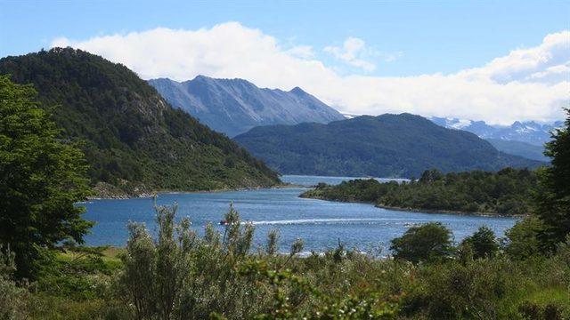 Bahia Wulaia isla Navarino Patagonia chilena