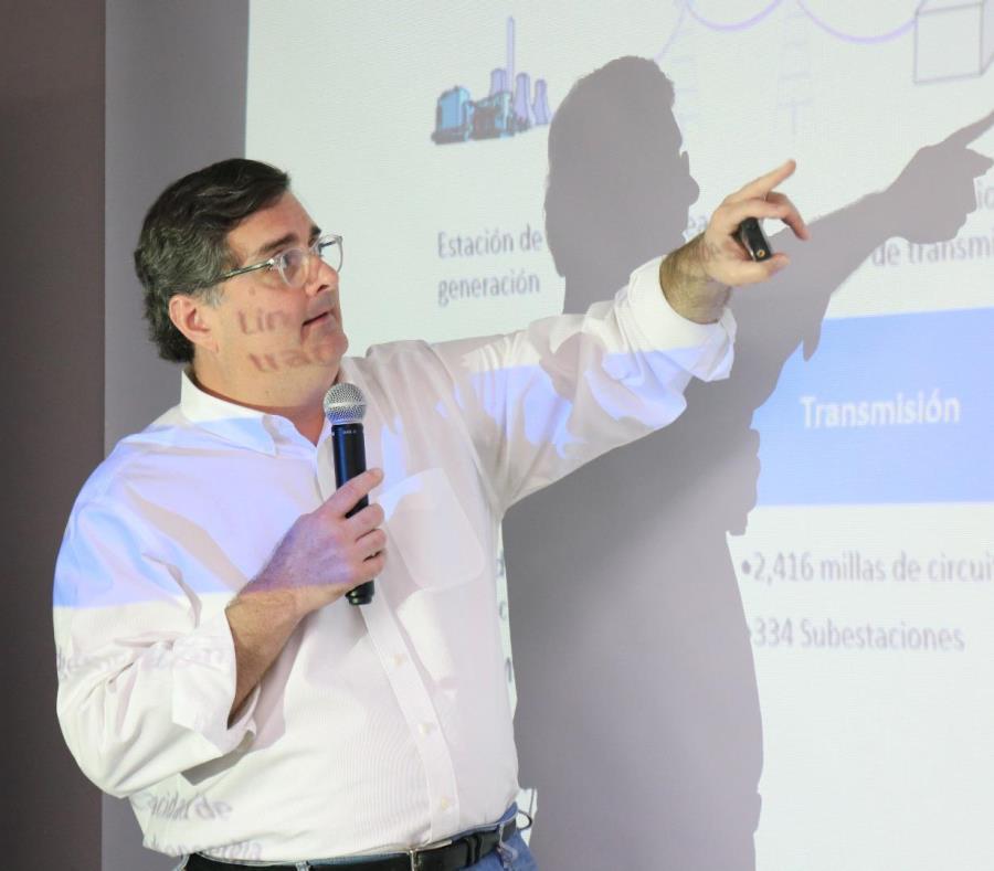 Sergio Marxuach director de Politica Publica del CNE