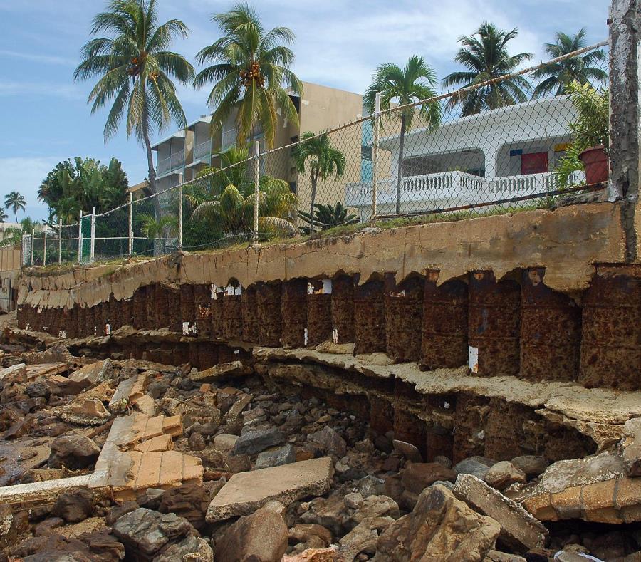 cambio climatico en Puerto Rico
