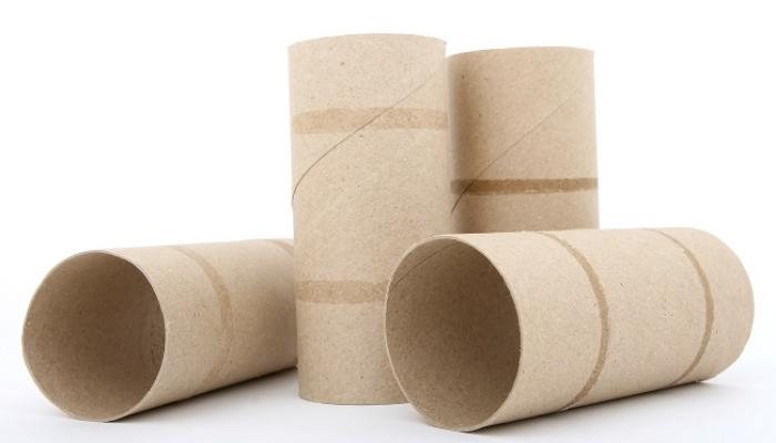 tubos de papel higienico