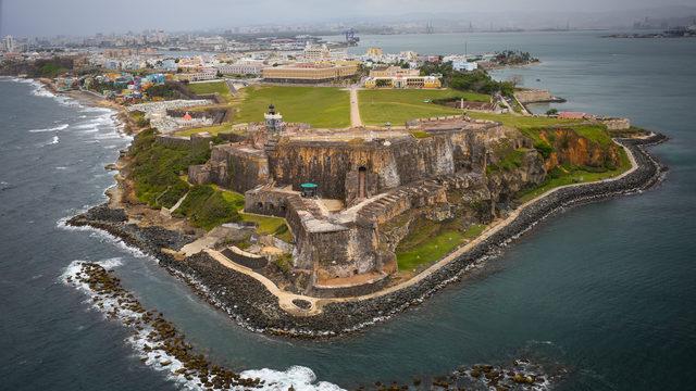 CASTILLO SAN FELIPE DEL MORRO estuario de la Bahia de San Juan