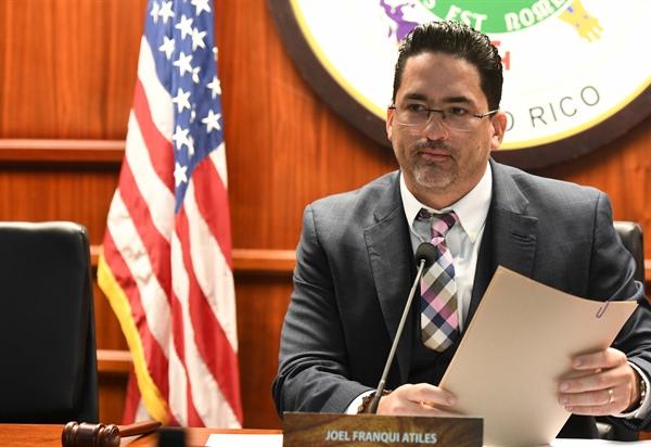 Comision de Agricultura Recursos Naturales Asuntos Ambientales Joel Franqui Atiles