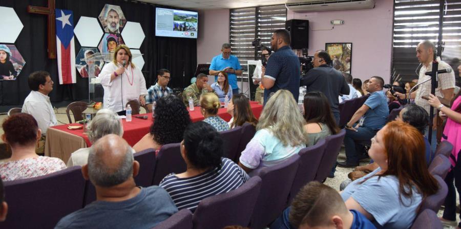 Jenniffer Gonzalez y Gabriel Rodriguez Aguilo residentes Puerto Rico
