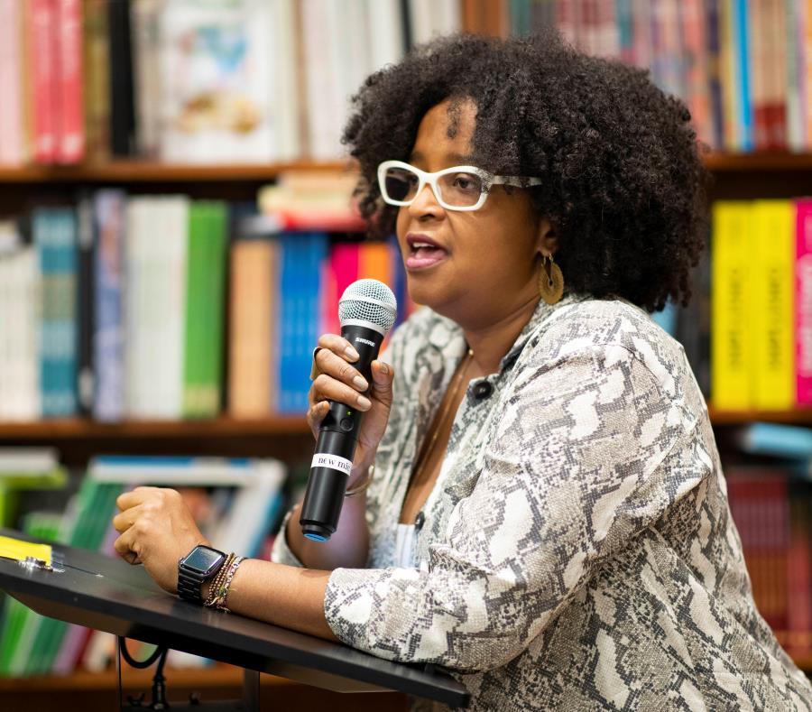 Olga Chapman Rivera coordinadora general Congreso Afrodescendencia Puerto Rico