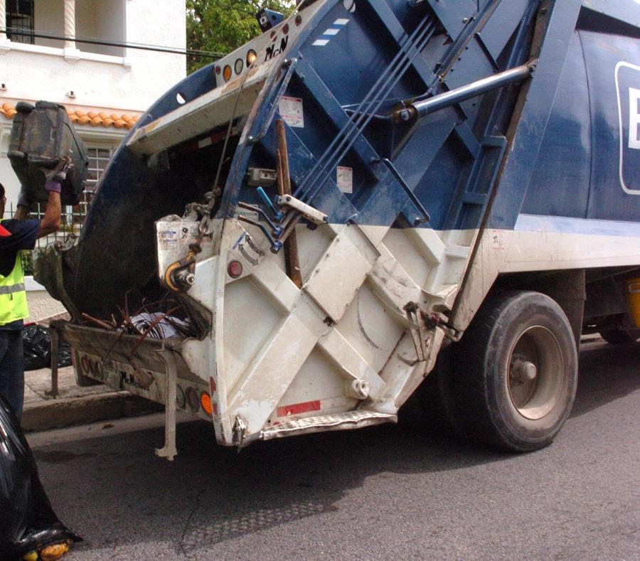 basura carro recolector