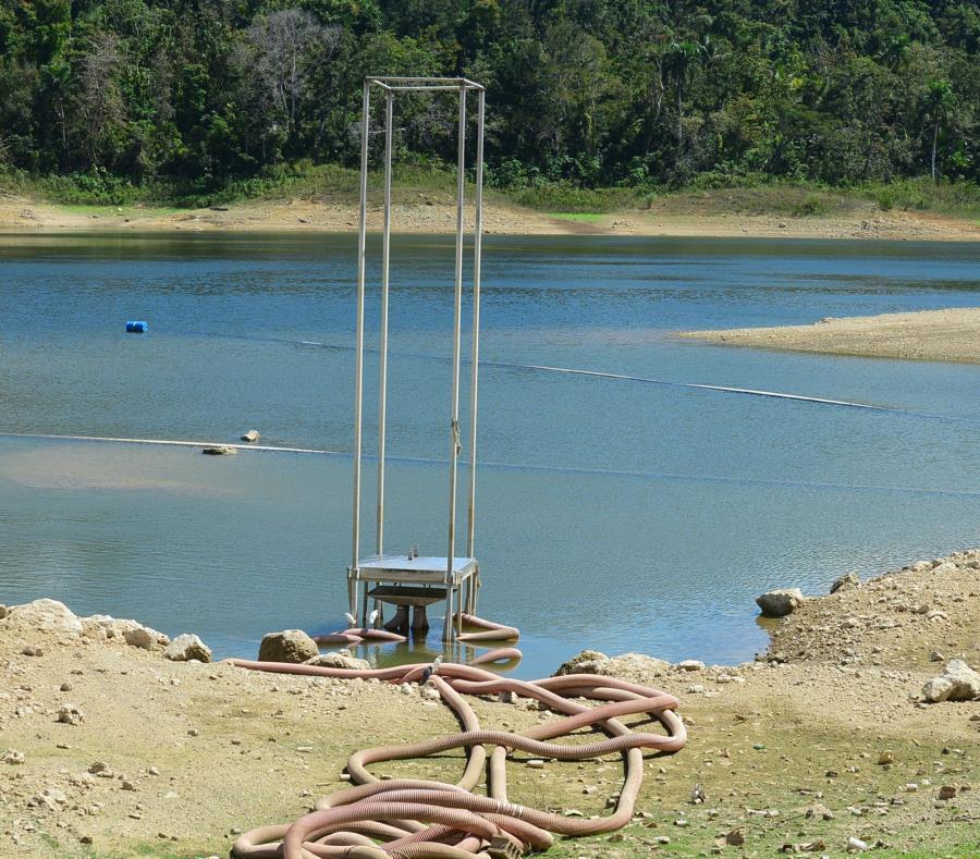 estabilizacion en la represa