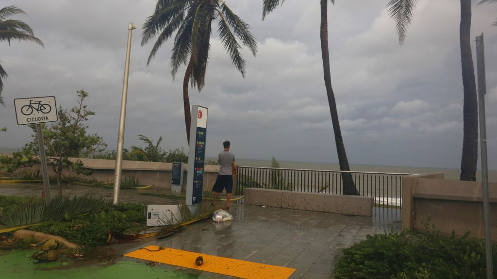 huracán María daños Puerto Rico