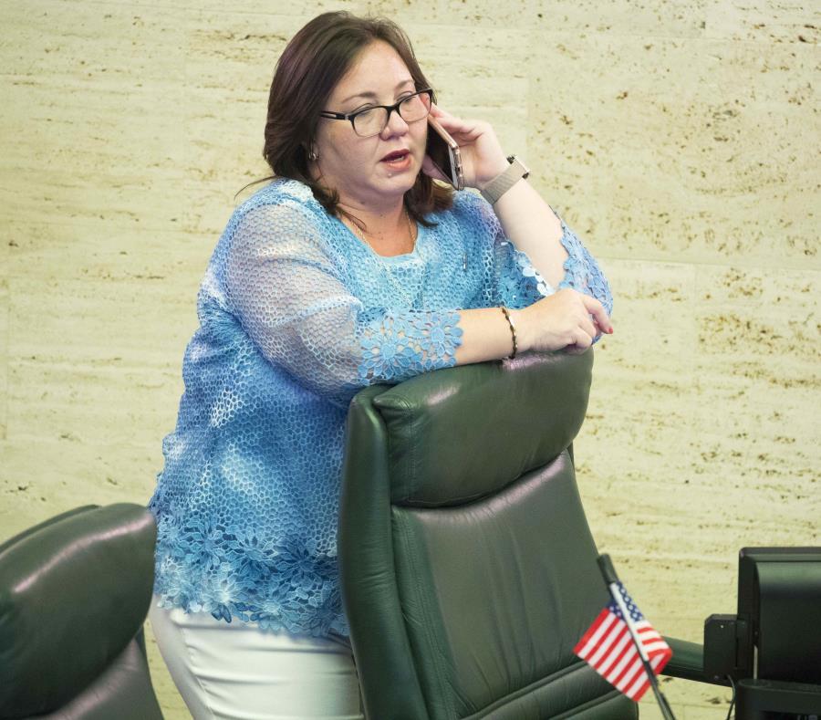 legisladora de Puerto Rico Maricarmen Mas