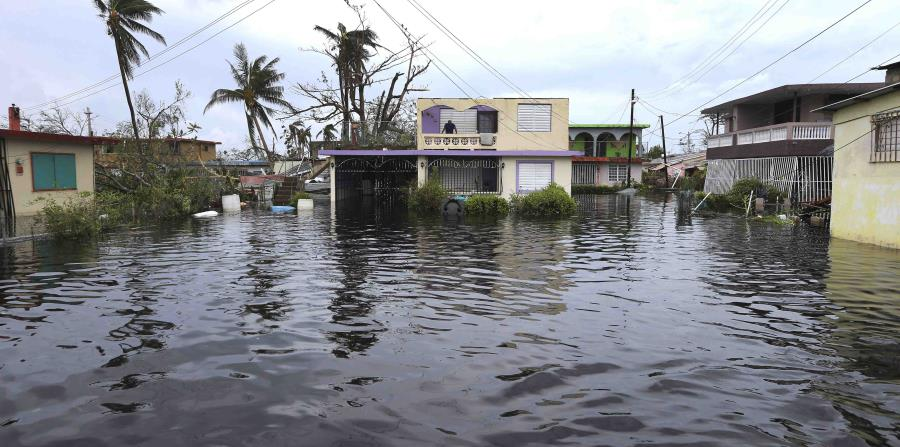 inundacion huracan Maria