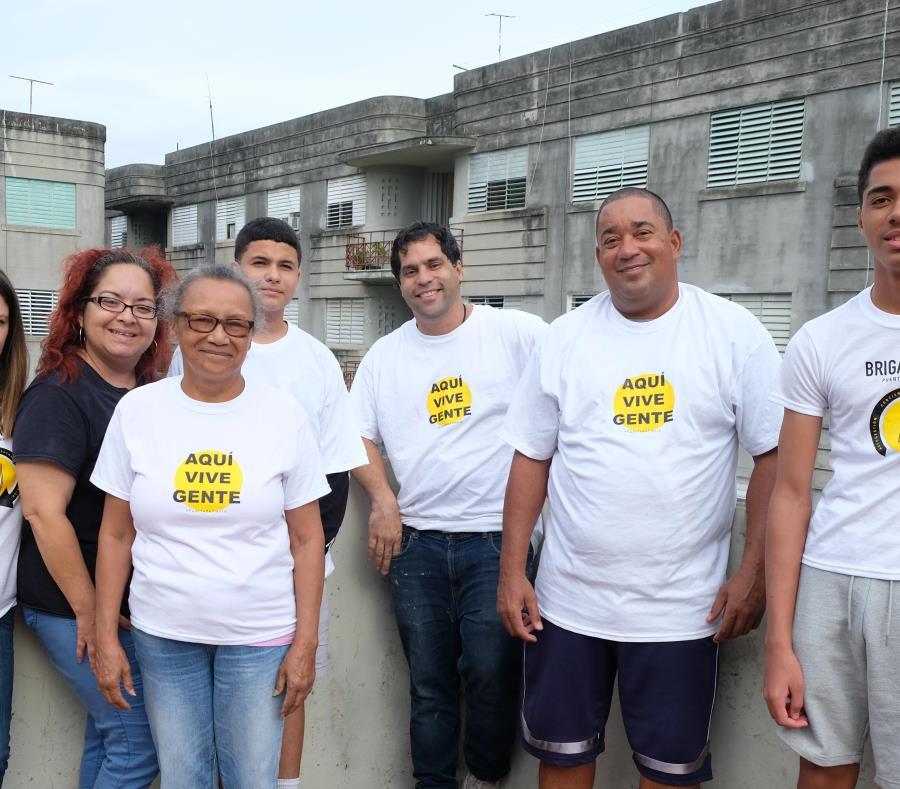 comunidad Puerta de Tierra Brigada PDT