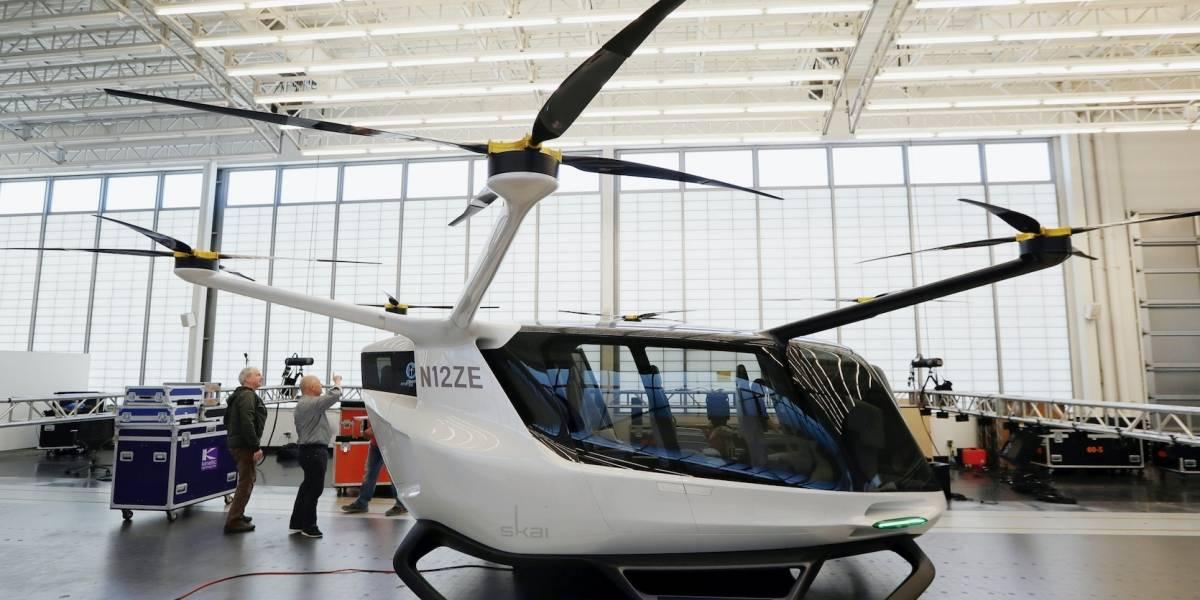 vehiculo volador electrico