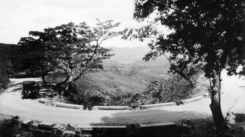 Carretera Central Caguas Cayey año 1917