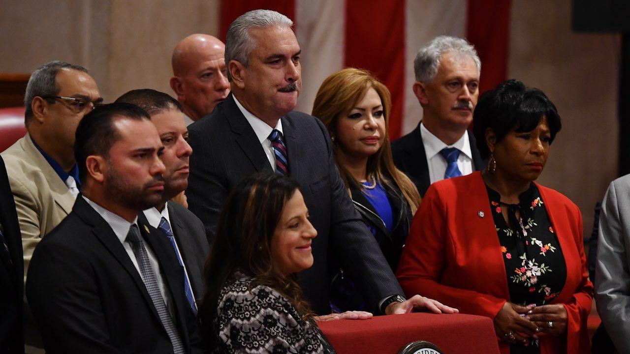 Delegacion de la mayoria del Senado de PR