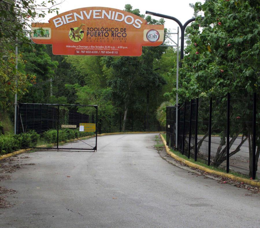 Entrada del Zoologico de Mayaguez