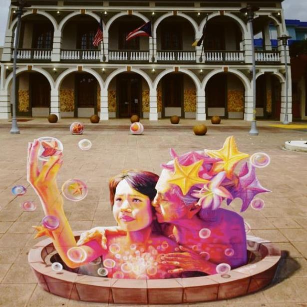 Galeria al aire libre en Yauco