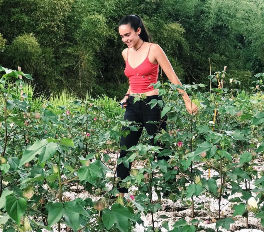 Naomy Candelaria Morales egresados Bachillerato Agricultura Sustentable Universidad de Puerto Rico en Utuado