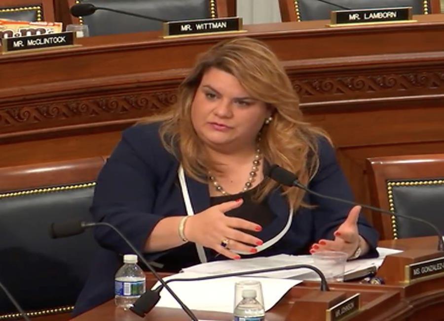 comisionada Jenniffer Gonzalez
