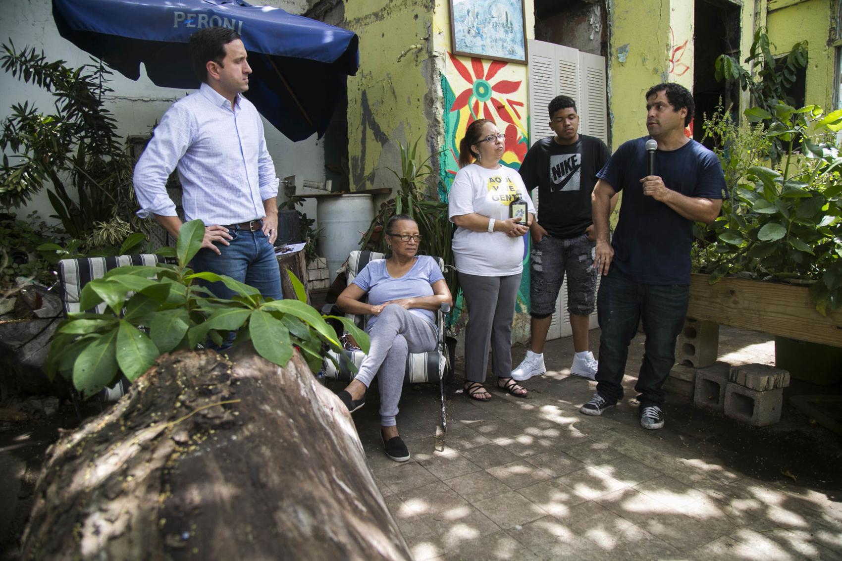 comunidad Puerta de Tierra en San Juan