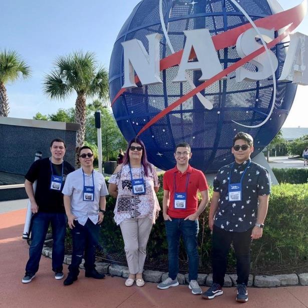 equipo robotica UPRA en competencia NASA