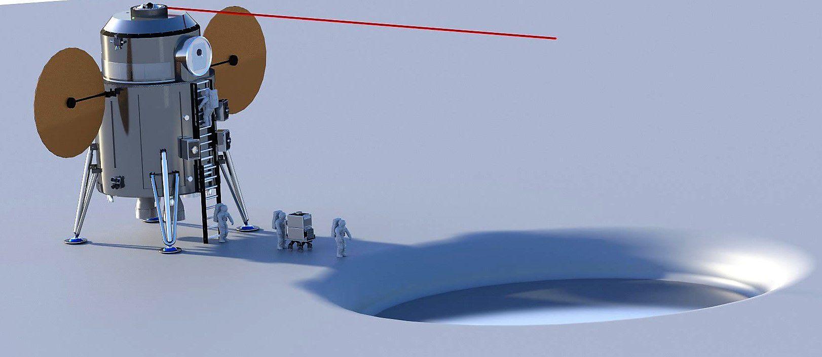 simulacion nave espacial tripulada