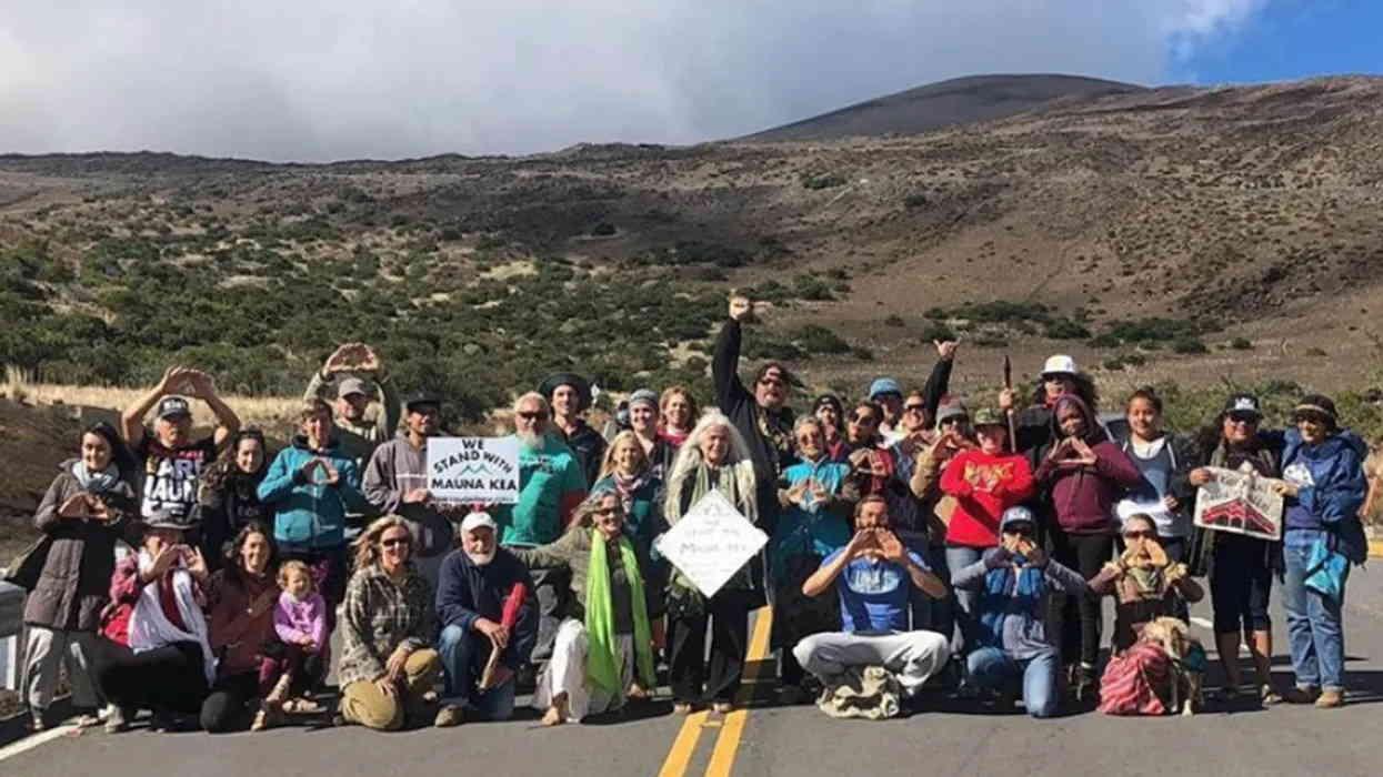 Protests led by Native Hawaiians