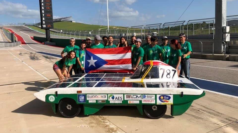 RUM carro solar Egress Award