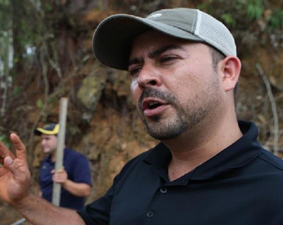 alcalde de Utuado Ernesto Irizarry Salva