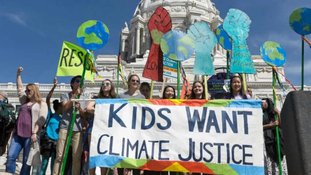kids want climate justice