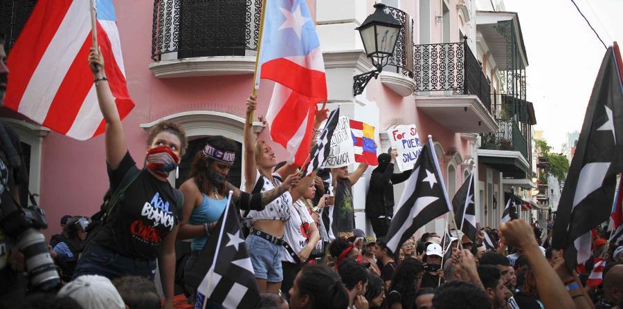 paro nacional San Juan Puerto Rico