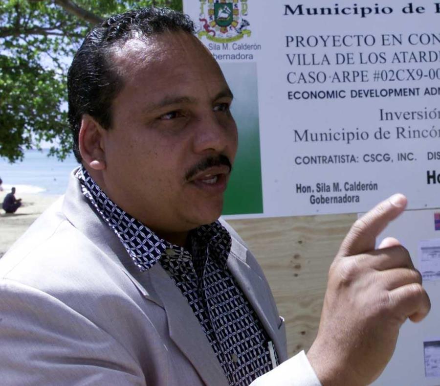 Carlos Lopez Bonilla alcalde de Rincon