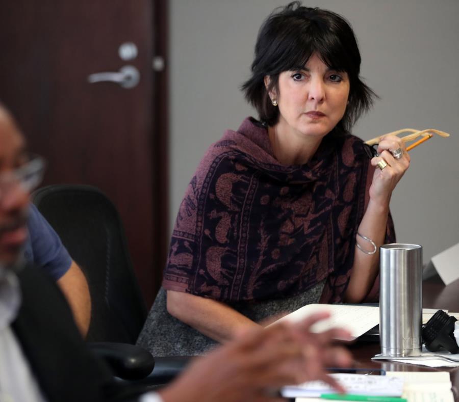 Cecille Blondet directora ejecutiva de Espacios Abiertos