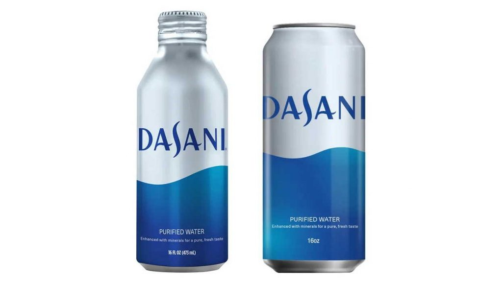 Dasani Water Will Soon Be Sold in Aluminum