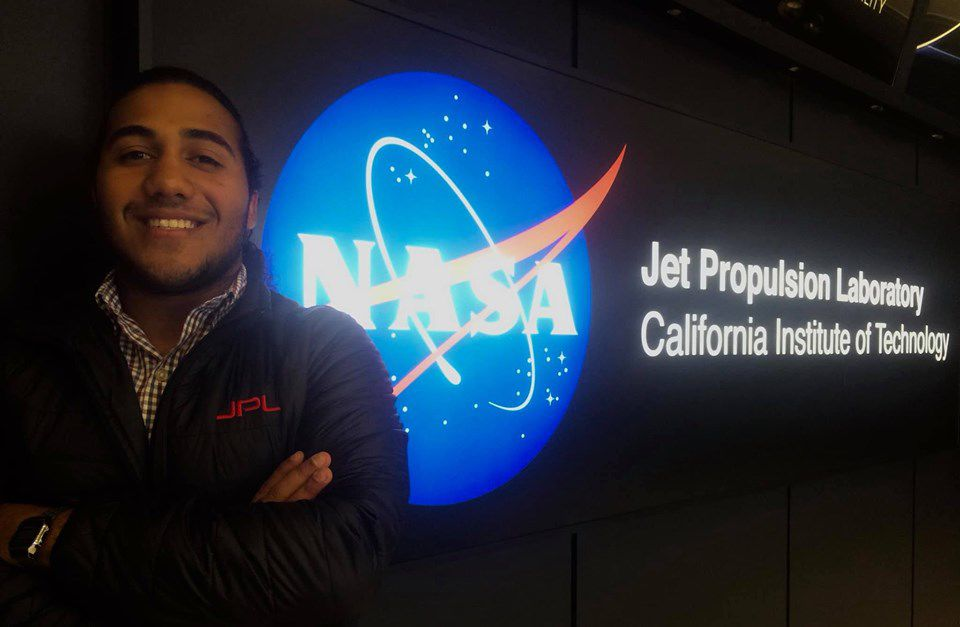 Estudiantes internado NASA Jet Propulsion Laboratory