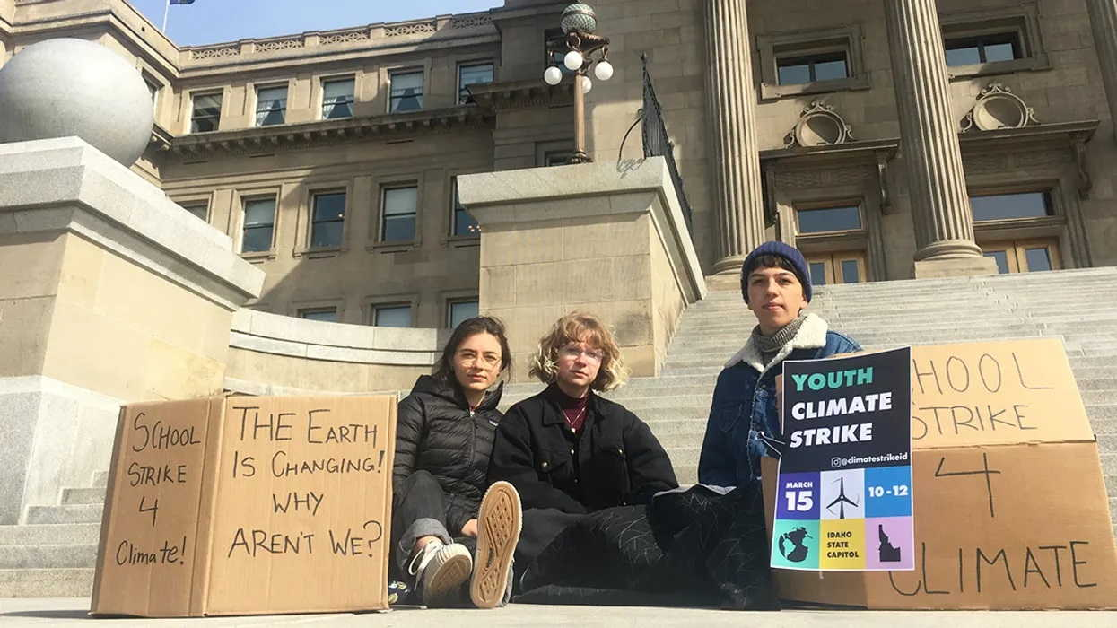 High School Students Organize Youth Climate Strikes