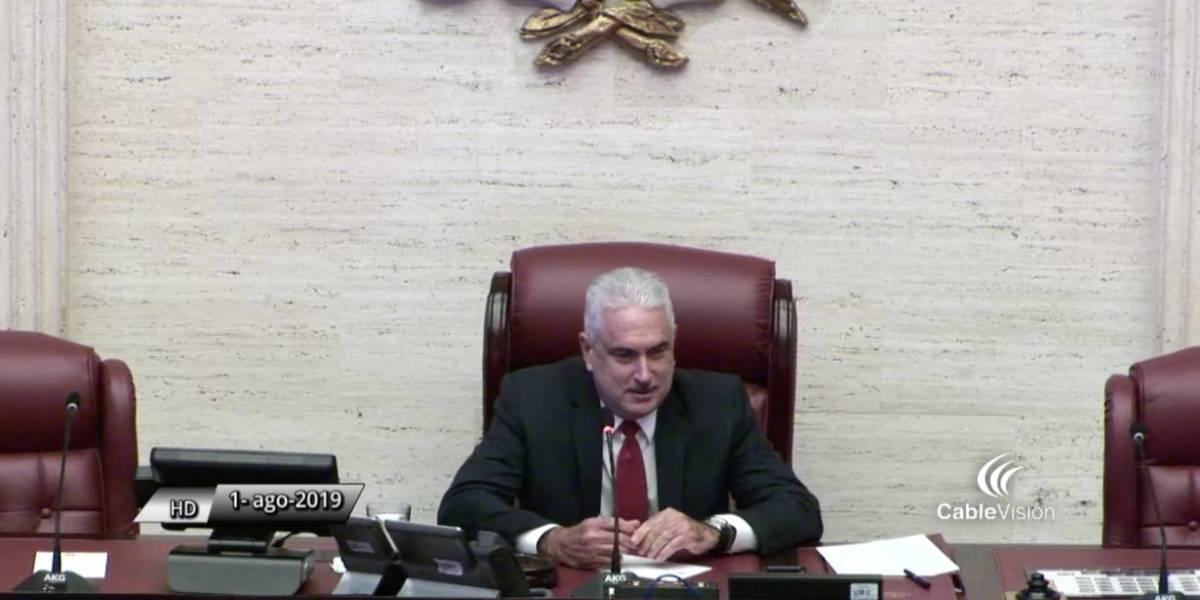 Thomas Rivera Schatz presidente Senado Puerto Rico