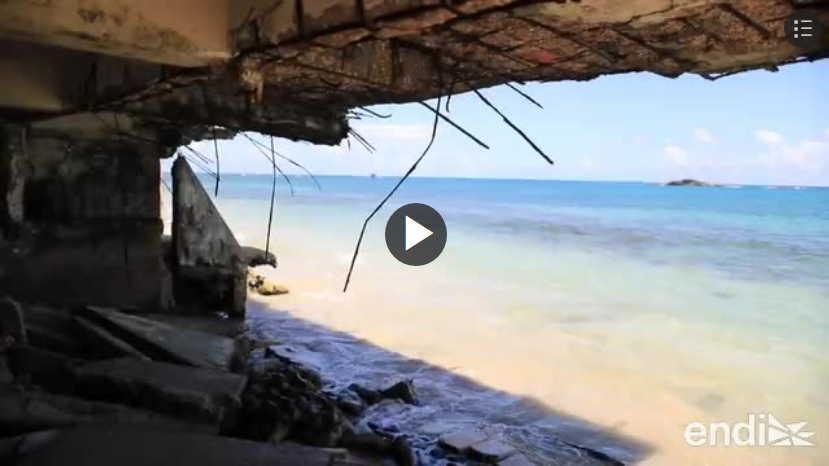 Vega Baja estructuras abandonadas erosion