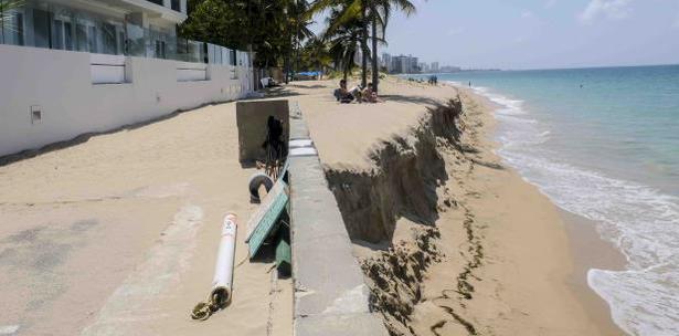 erosion costera en Puerto Rico
