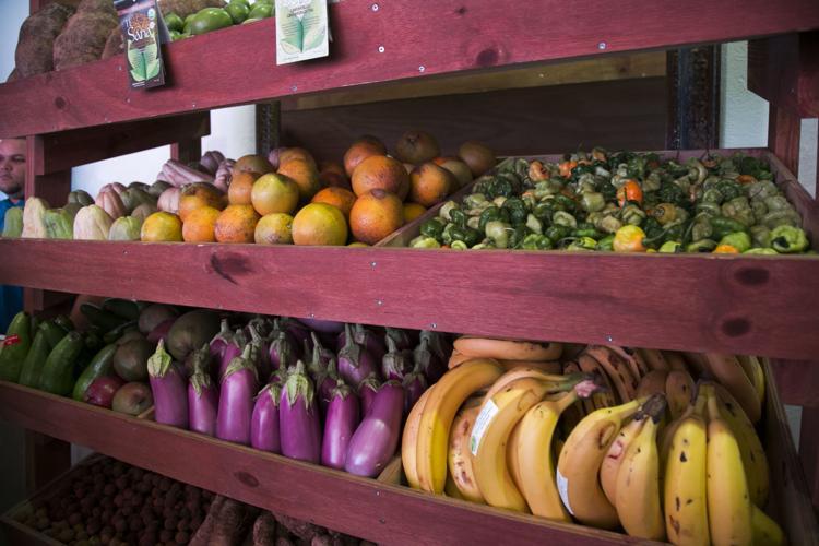 frutas y verduras del exterior