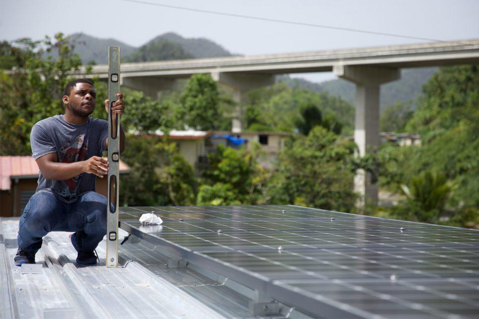 instalacion de placas solares en Puerto Rico