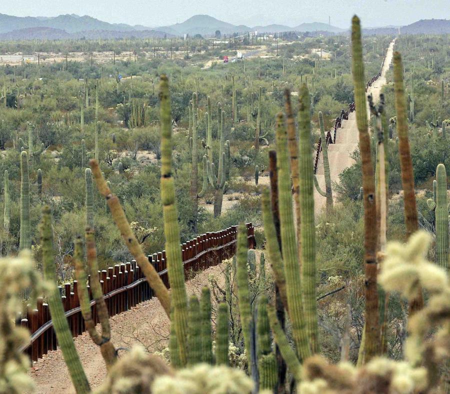 muro fronterizo USA MEXICO