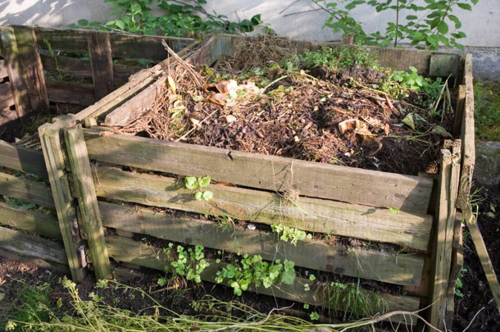 reciclar residuos de jardin