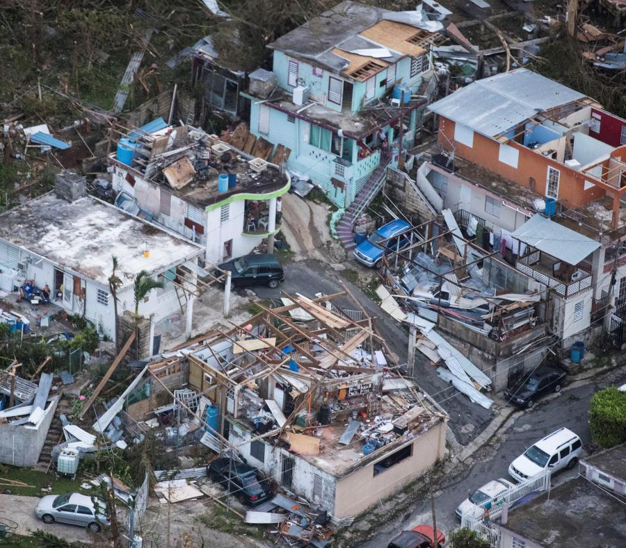 riesgo de las viviendas ante huracan