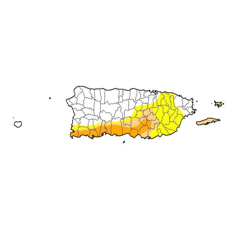 sequia Puerto Rico