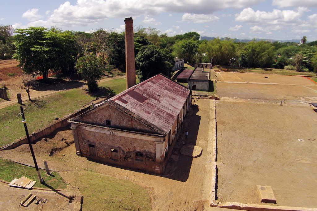 Foto areas trabajos restauracion Antiguo Acueductos Rio Piedras