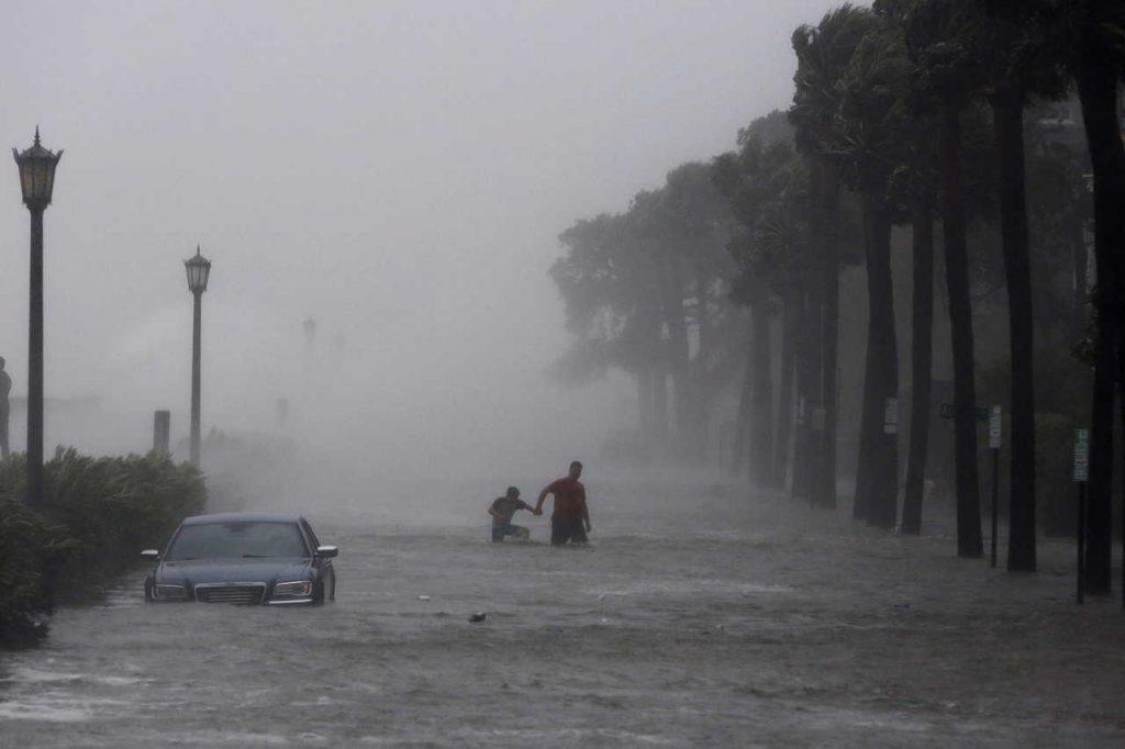 Tropical Storm Irmas Effects Charleston South Carolina