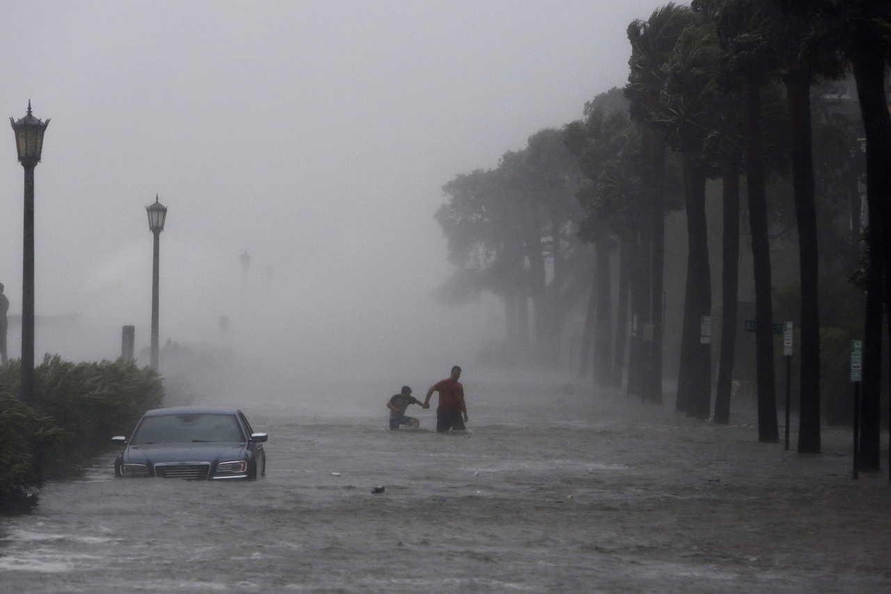 Tropical Storm Irmas Effects Charleston South Carolina